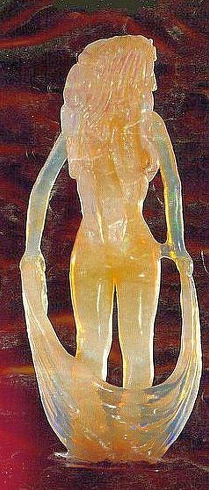 Opal Goddess Figure
