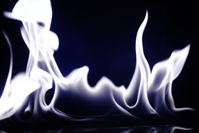 White fire of AN graphic